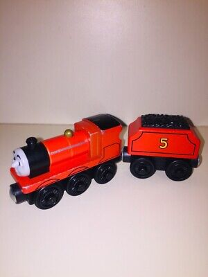 """Thomas and Friends Wooden Railway - """"James w/Tender"""""""
