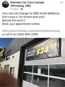 Best Oil change offer in town