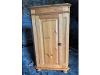 Cotswold collection pine corner cupboard