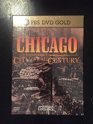 NEW Chicago: City of the Century PBS DVD GOLD (DVD, 2003, 4-Disc Set,)  SEALED