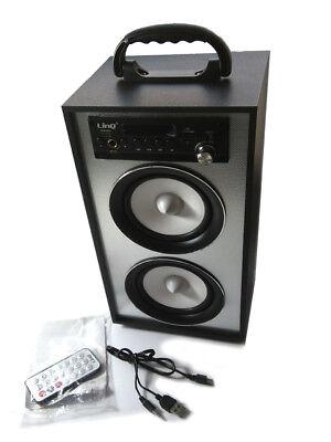 Altavoz Altavoces Bluetooth Speaker Box Sistema estéreo USB MP3 Radio FM SD