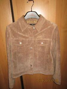 ladies light brown suede jacket Kitchener / Waterloo Kitchener Area image 1