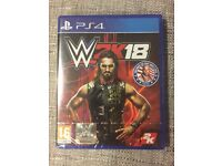 WWE 2K18 for Playstation 4 PS4 Brand new sealed