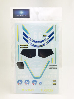1/12 Yamaha FZR750 Gauloises #6 '85 Bold Or 24hr Decal for Fujimi for sale  Shipping to India