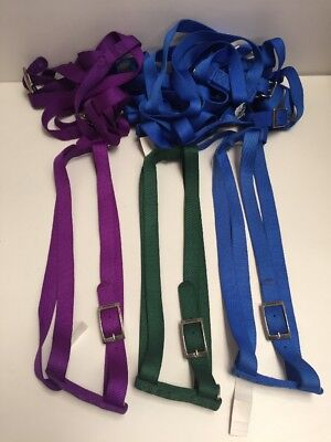 """Lot Of 10 Coastal Pet Products 40"""" Adjustable Nylon Dog Harness NWT Made In USA"""