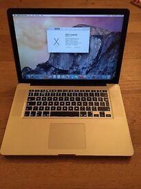 Apple Macbook Pro core i5 6gb ram 640gb hdd