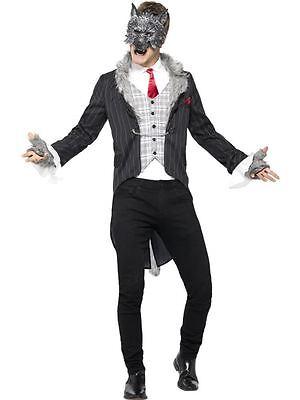 Big Bad Wolf Costume, Deluxe, XL, Halloween Fancy Dress, - Deluxe Big Bad Wolf Kostüm