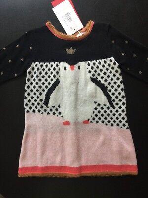 nguin Prinzessinnenkleid Größe 9 M, Gestricktes Kleid Stars (Pinguin Baby Kleid)