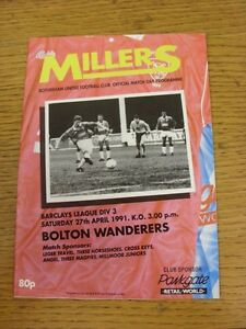 16-09-1989-Rotherham-United-v-Bolton-Wanderers-Light-Fold