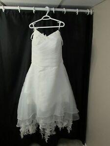 New Ivory Wedding Dress