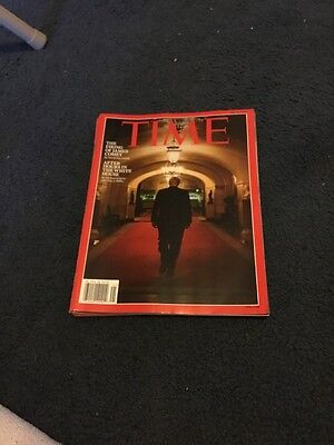 Time Magazine Donald Trump The Firing Of James Comey May 2017