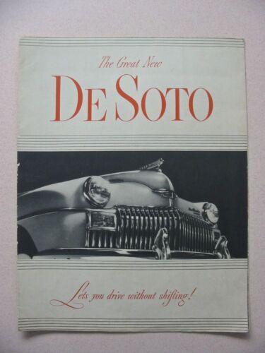 1949 De Soto Brochure