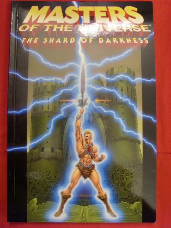 MASTERS OF UNIVERSE SHARD DARKNESS VOL.1 MVCREATIONS TPB HE-MAN STAPLES 2004 NM