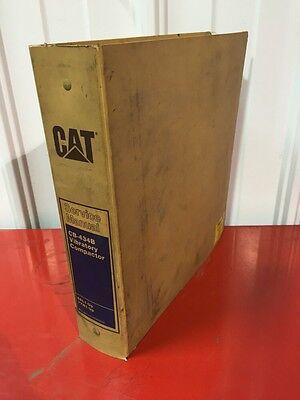 Cat Caterpillar Cb-434b Vibratory Compactor Service Shop Repair Book Manual