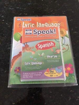Ihre Baby Kann Sprechen Spanische 4 Bremsscheiben Set Dvds :
