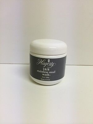 Hagerty Stainless Steel Wash Polish 8oz Paste Free Ship USA for sale  Chicago