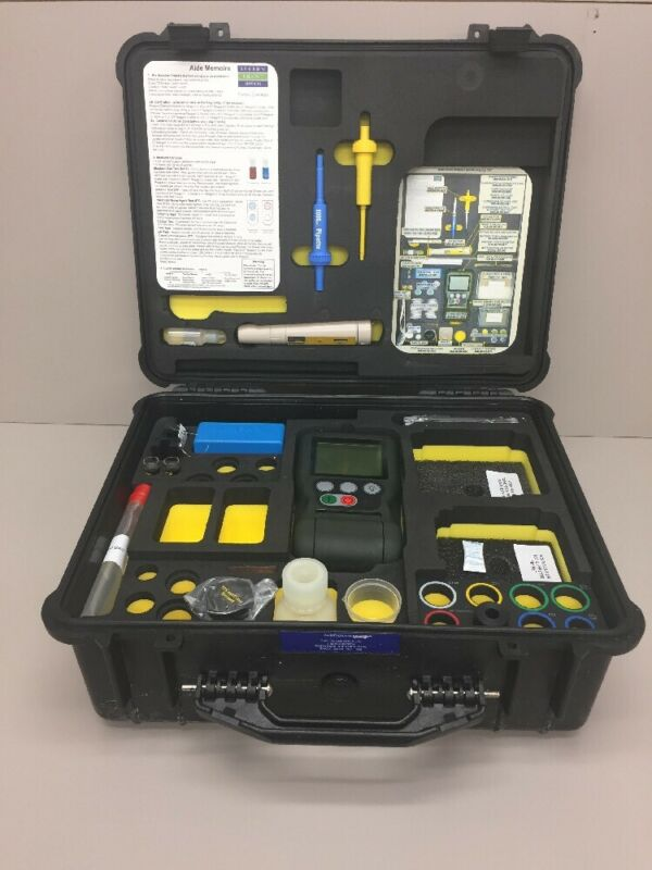 Hach Eclox-M Water Test Kit W/ Carrying Case, Luminometer, TDS Meter