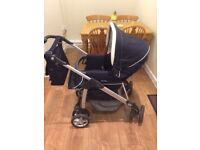 Silver Cross 3 in 1 Sleepover Pushchair