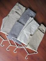 Khaki Pants - 5 pair in assorted colours