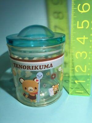 (Sanrio Original Vintage 2007 Tenorikuma Jar Hello Im Latte Lucky Star Container)