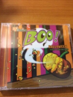 DJ's Choice BOO! Halloween Games and Fun For Kids (CD) flat8 - Fun Games For Halloween Kids