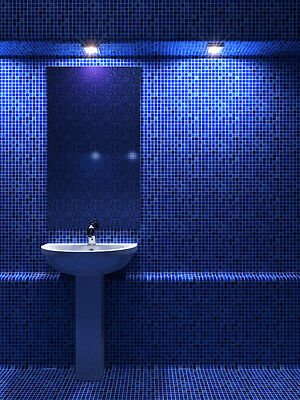 Changing the colour scheme can give a bathroom a boost