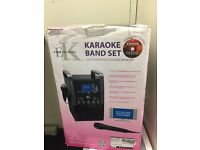 Easy Karaoke EKS-515 Band Set inc 2 mics and CDs. Brand new. RRP £124.99 MUST GO!