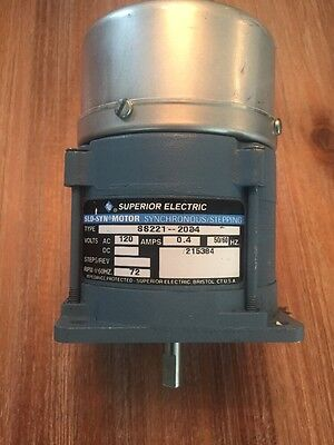 Superior Electric Slo Syn Motor Synchronus Stepping Ss221-2034