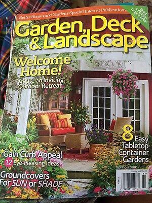 Better Homes And Gardens Garden, Deck & Landscape Magazine  Better Homes And Gardens Deck