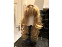 Wig Long Blond Human Hair by MISSTRESSES
