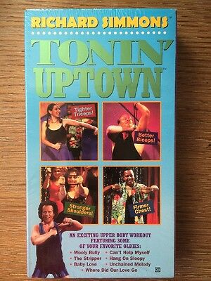 RICHARD SIMMONS- TONIN' UPTOWN Upperbody workout NEW/SEALED Better