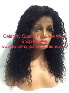 Celebrity Quality Full Lace Human Hair Wigs