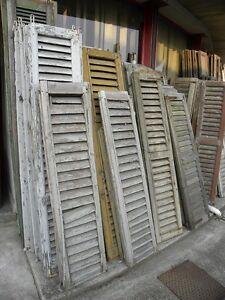 Vecchie finestre a griglia in legno vecchio prezzo per la coppia varie misure ebay - Finestre in legno prezzo ...