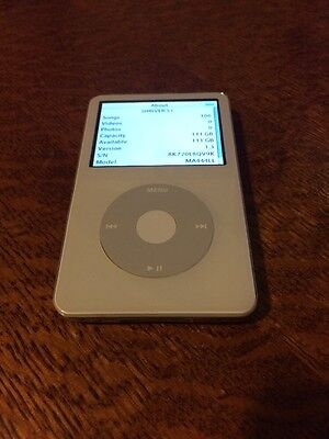 120GB iPod 5th Generation Classic Video Excellent Condition