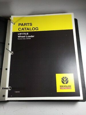 New Holland Lw170.b Wheel Loader Parts Catalog Manual