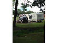 2000 Abi Manhattan 4/5 berth caravan