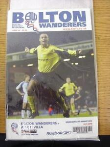 21-01-2004-Football-League-Cup-Semi-Final-Bolton-Wanderers-v-Aston-Villa-Ite
