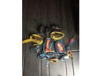13 straps