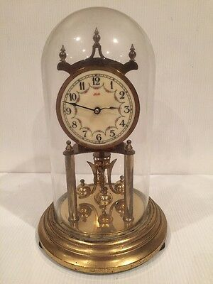 """Vintage Kundo by Kieninger Obergfell 400 Day Anniversary Clock 12"""" for sale  Shipping to Ireland"""