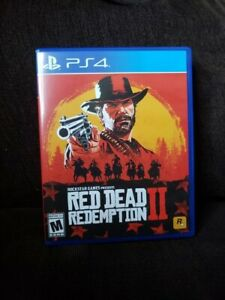 Red dead redemption 2 for ps4