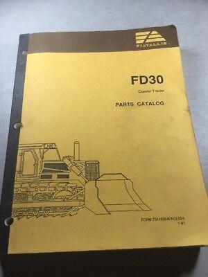 Fiat Allis Fd30 Crawler Tractor Parts Catalog