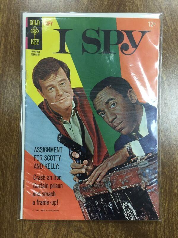 I SPY #4   1968  (GOLD KEY)    VF-