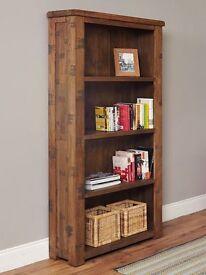 Shipton Large Rustic Oak Bookcase