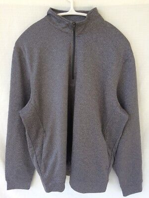 - Pro Tour Cool Play Pullover 1/4 Zip Jacket- GRAY- Sz SMALL EUC