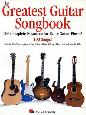 The Greatest Guitar Songbook Sheet Music Guitar Collection NEW 000699142