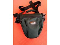 Lowepro toploading holster style camera bag