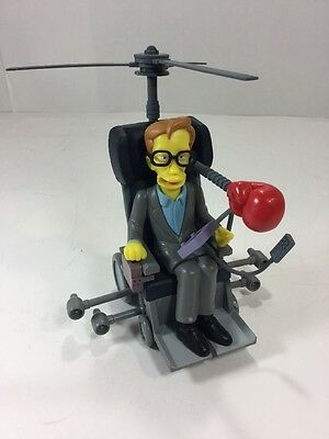 Simpsons World of Springfield Dr. Stephen Hawking 2003 Series 13 Playmates