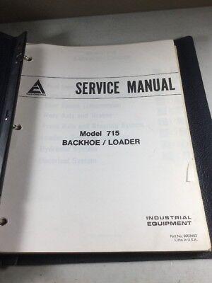 Allis Chalmers 715 Backhoe Loader Service Manual