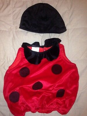 Over 18 Halloween Costumes (Infant 12-18 Mo PLAY TIME Halloween Lady Bug Plush Costume Red & Black Pull)