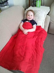 Weighted Blanket - Custom to your size  Sensory issues ADHD Cambridge Kitchener Area image 1